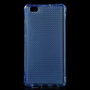 Diamonds gelový obal na Huawei P8 Lite - modrý - 1