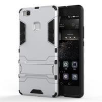 Odolný obal na mobil Huawei P9 Lite - stříbrný - 1/3