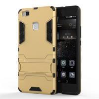 Odolný obal na mobil Huawei P9 Lite - zlatý - 1/3