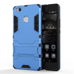 Odolný obal na mobil Huawei P9 Lite - modrý - 1