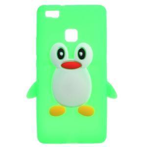 Silikonový obal na mobil Huawei P9 Lite - zelený - 1
