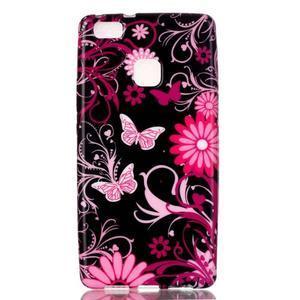 Emotive gelový obal na mobil Huawei P9 Lite - motýlci - 1