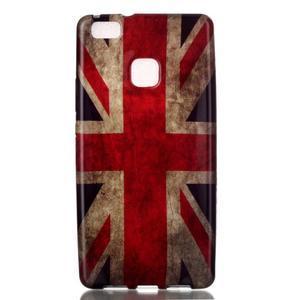 Emotive gelový obal na mobil Huawei P9 Lite - UK vlajka - 1