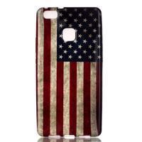 Emotive gelový obal na mobil Huawei P9 Lite - US vlajka - 1/4