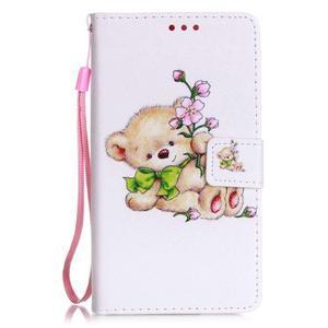 Emotive pouzdro na mobil Huawei P9 Lite - medvídek - 1