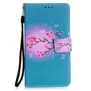 Emotive pouzdro na mobil Huawei P9 Lite - květoucí svěstka - 1