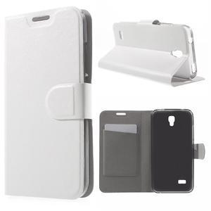 Horse peněženkové pouzdro na mobil Huawei Y5 a Y560 - bílé - 1
