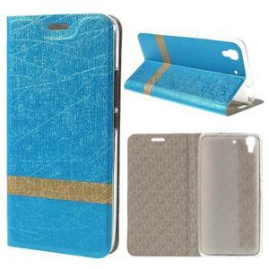 Lines pouzdro na mobil Huawei Y6 - modré - 1