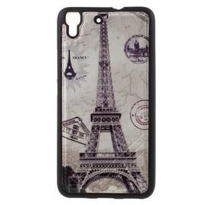 Sally gelový obal na mobil Huawei Y6 - Eiffelova věž - 1