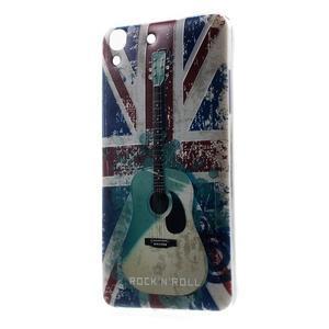 Softy gelový obal na mobil Huawei Y6 - UK vlajka - 1