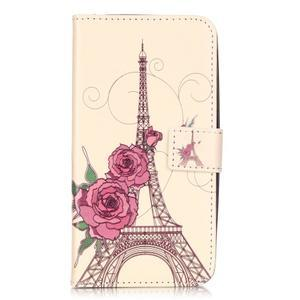 Knížkové pouzdro na mobil Huawei Y6 Pro - Eiffelova věž - 1