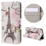 Emotive peněženkové pouzdro na mobil Huawei Y6 Pro - Eiffelova věž - 1/7