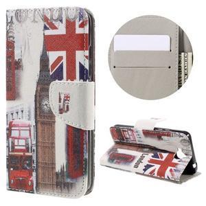 Emotive peňaženkové puzdro na mobil Huawei Y6 Pro - Big Ben - 1
