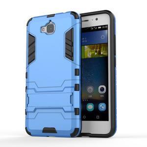 Outdoor odolný obal na mobil Huawei Y6 Pro - modrý - 1