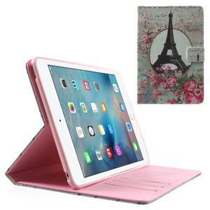 Štýlové puzdro pre iPad mini 4 - Eiffelova veža - 1