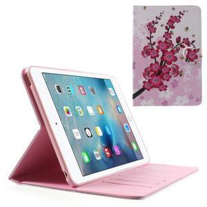 Stylové pouzdro na iPad mini 4 - kvetoucí větvička - 1