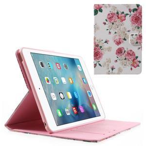 Štýlové puzdro pre iPad mini 4 - kvetiny - 1