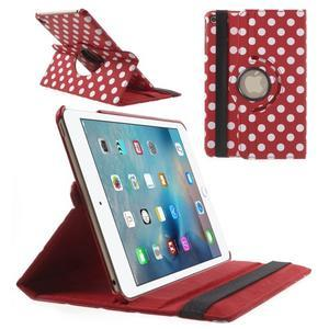 Cyrc otočné puzdro pre iPad mini 4 - červené - 1