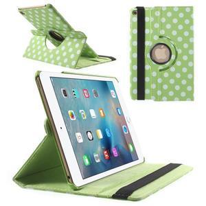 Cyrc otočné puzdro pre iPad mini 4 - zelené - 1