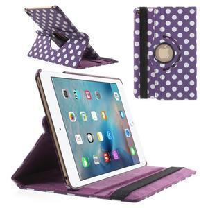 Cyrc otočné puzdro pre iPad mini 4 - fialové - 1