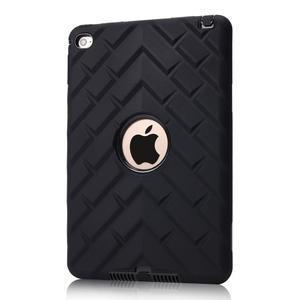 Vysoce odolný silikonový obal na tablet iPad mini 4 - černý - 1