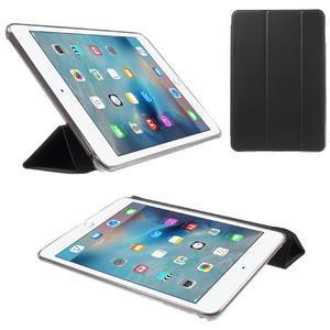 Trifold trojpolohový puzdro pre tablet iPad mini 4 - čierne - 1