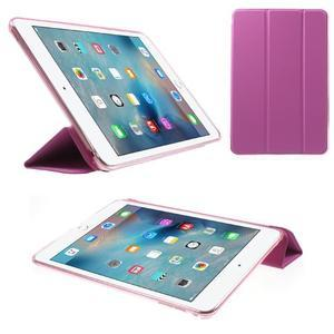 Trifold trojpolohové pouzdro na tablet iPad mini 4 - rose - 1