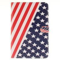 Standy puzdro pre tablet iPad mini 4 - US vlajka - 1/7