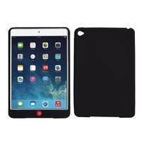 silikónové puzdro pre tablet iPad mini 4 - čierne - 1/3
