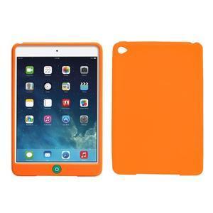 silikónové puzdro pre tablet iPad mini 4 - oranžové - 1