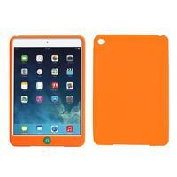 silikónové puzdro pre tablet iPad mini 4 - oranžové - 1/3