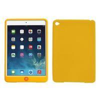 silikónové puzdro pre tablet iPad mini 4 - žlté - 1/3