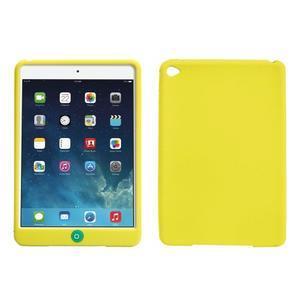 silikónové puzdro pre tablet iPad mini 4 - zelenožlté - 1