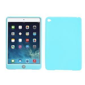 silikónové puzdro pre tablet iPad mini 4 - cyan - 1