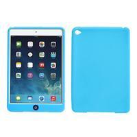 silikónové puzdro pre tablet iPad mini 4 - svetlomodré - 1/3