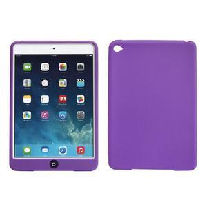 silikónové puzdro pre tablet iPad mini 4 - fialové - 1