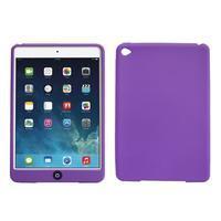Silikonové pouzdro na tablet iPad mini 4 - fialové - 1/3
