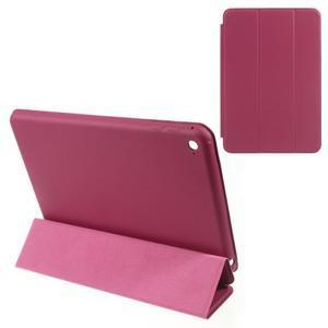Slimové polohovatelné pouzdro na iPad mini 4 - rose - 1