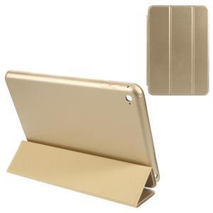 Slimové polohovatelné pouzdro na iPad mini 4 - zlaté - 1