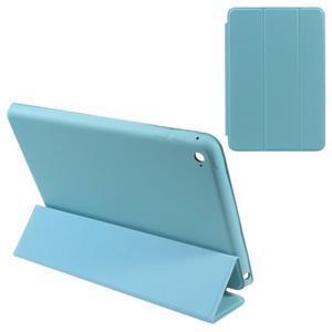 Slimové polohovateľné puzdro pre iPad mini 4 - svetlomodré - 1