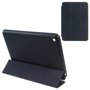 Slimové polohovateľné puzdro pre iPad mini 4 - tmavomodré - 1