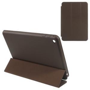 Slimové polohovateľné puzdro pre iPad mini 4 - coffee - 1