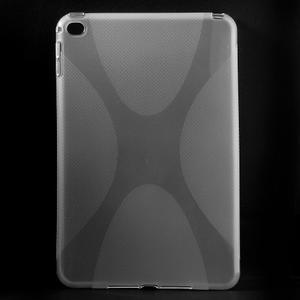 X-line gelový obal na tablet iPad mini 4 - transparentní - 1