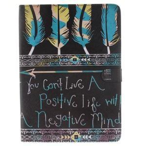 Knížkové puzdro pre tablet iPad Pro 9.7 - tribal - 1