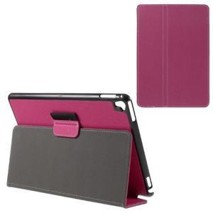 Clothy PU kožené pouzdro na iPad Pro 9.7 - rose - 1