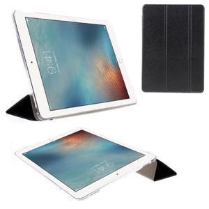 Trifold polohovateľné puzdro pre tablet iPad Pro 9.7 - čierne - 1