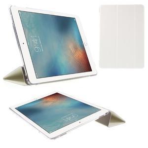 Trifold polohovatelné pouzdro na tablet iPad Pro 9.7 - bílé - 1