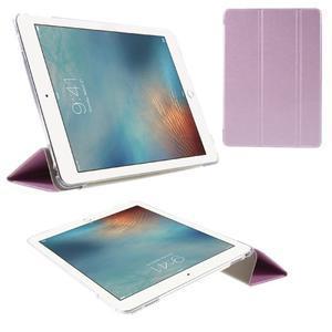 Trifold polohovatelné pouzdro na tablet iPad Pro 9.7 - růžové - 1