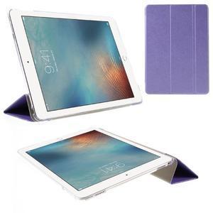 Trifold polohovatelné pouzdro na tablet iPad Pro 9.7 - fialové - 1