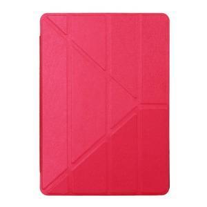 Extra origami polohovateľné puzdro pre iPad Pro 9.7 - červené - 1